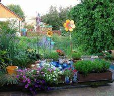 Dekoration: Terrasse und Hinterhof