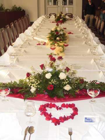 Motiven und Dekor für Weihnachten Tischdekoration für Hochzeit